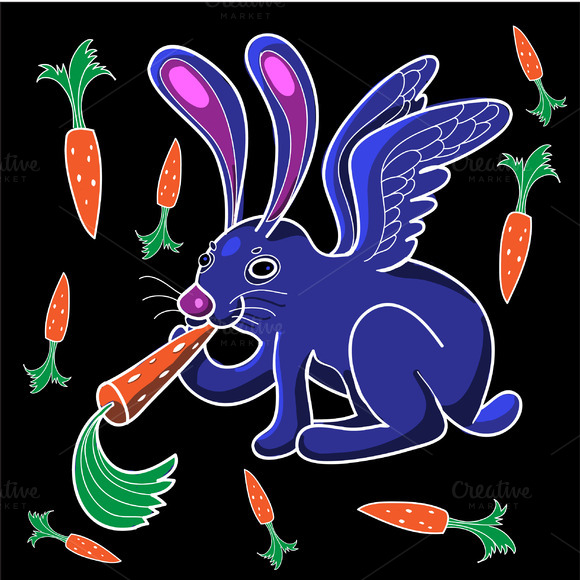 Rabbit In Vector