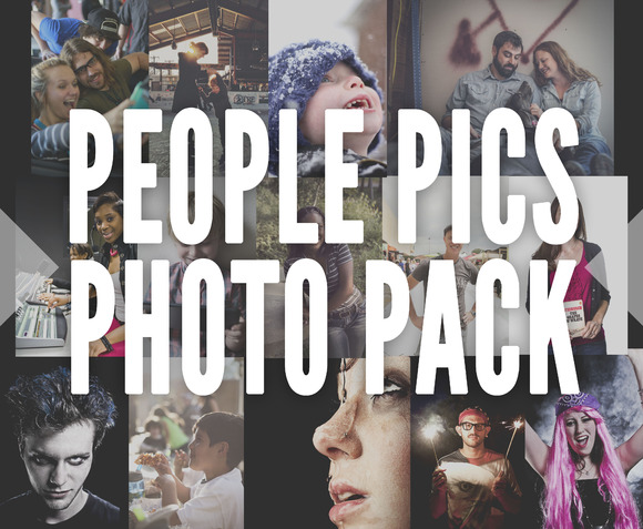 People Pics Photo Pack