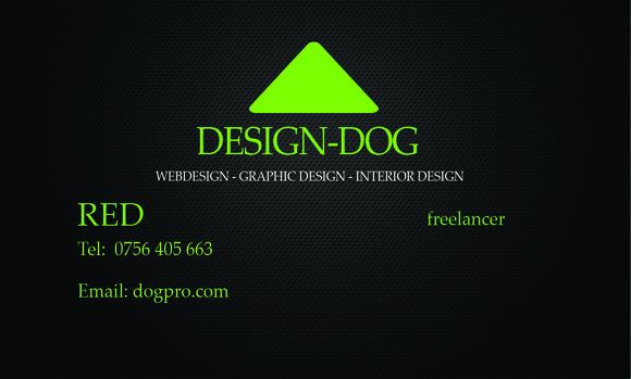 N9 Business Card Green