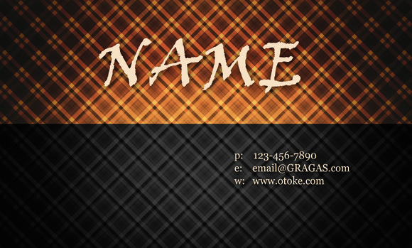 N9 Hot Vintage Business Card