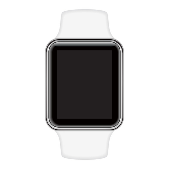 Isolated Image Of Smart Watch