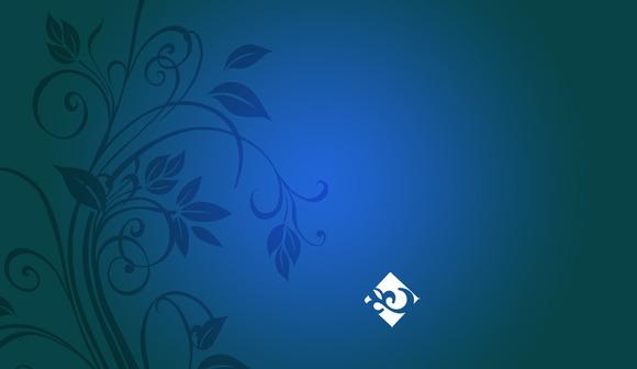 N9 Floral Business Card