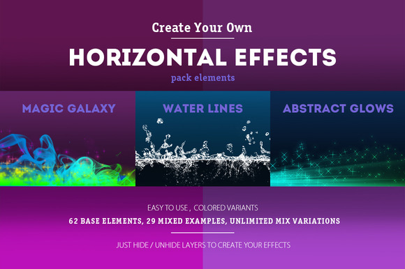 Horizontal Effects Pack