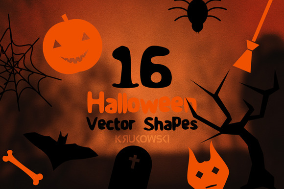 Halloween Vector Shapes