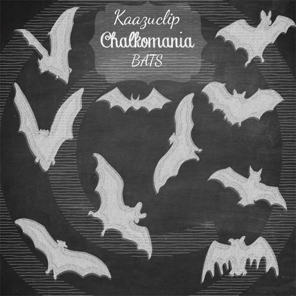 Chalkart Bats Collection