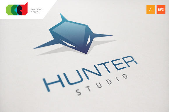 Hunter Logo Template