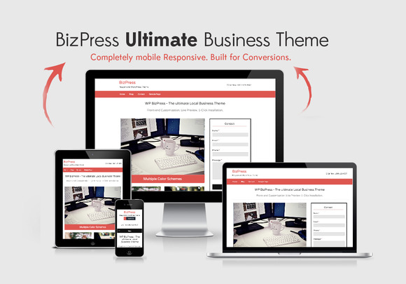 BizPress Local Business Theme