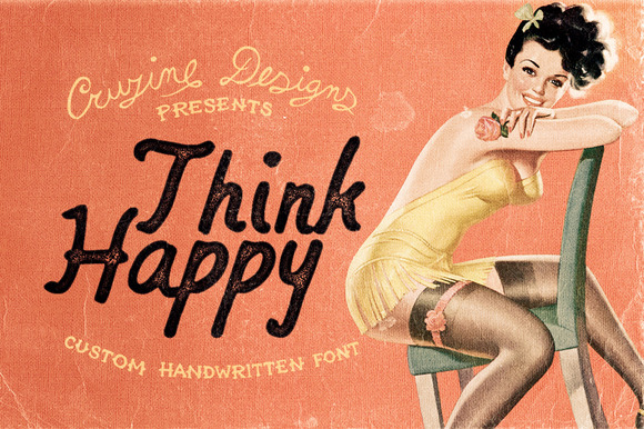 Think Happy Custom Font
