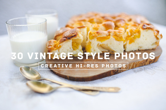 30 Vintage Style Photos V.2