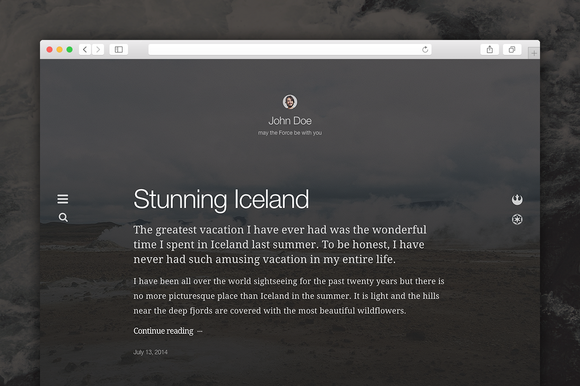 Imago WordPress Theme
