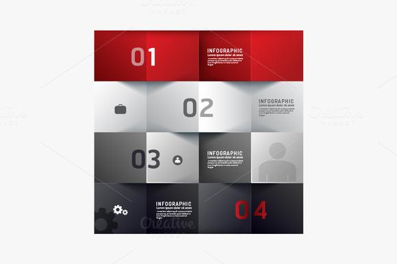 Modern Design Minimal Style Infograp