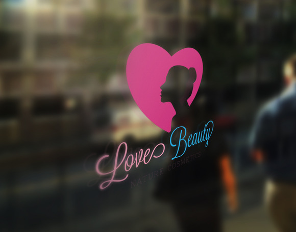 Love Beauty Logo Template