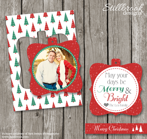 Luxe Pop Christmas Card Template