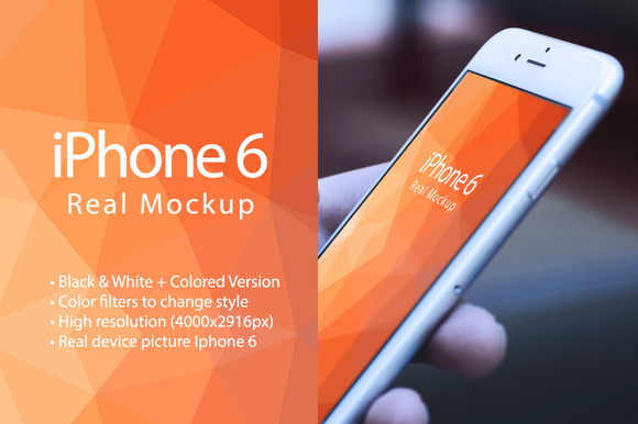 Mockup Iphone 6 Real Device Mockup