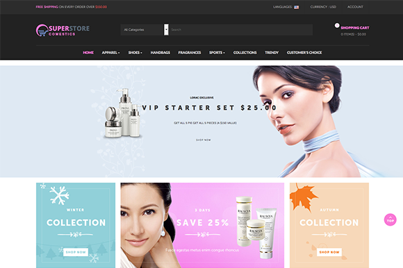 Leo Cosmetic Prestashop Theme