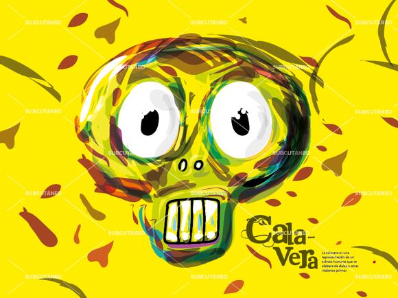 Calavera Illustration