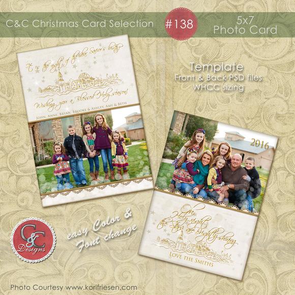 Christmas Photo Card Selection #138