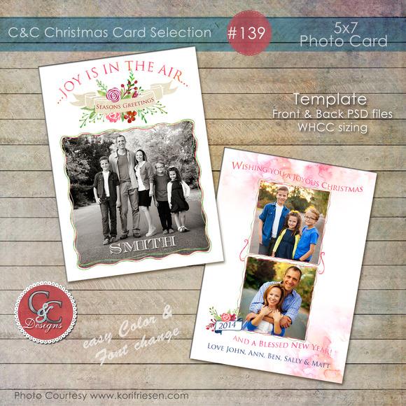 Christmas Photo Card Selection #139