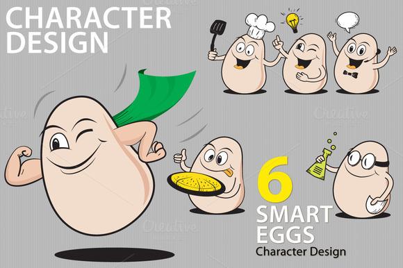 Smart Egg Character