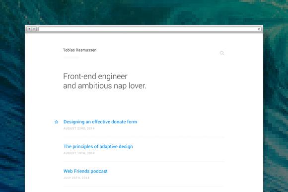 Thoughts WordPress Theme