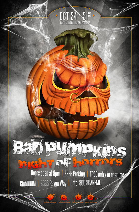 Bad PumpkinЎЇs Night Of Horrors