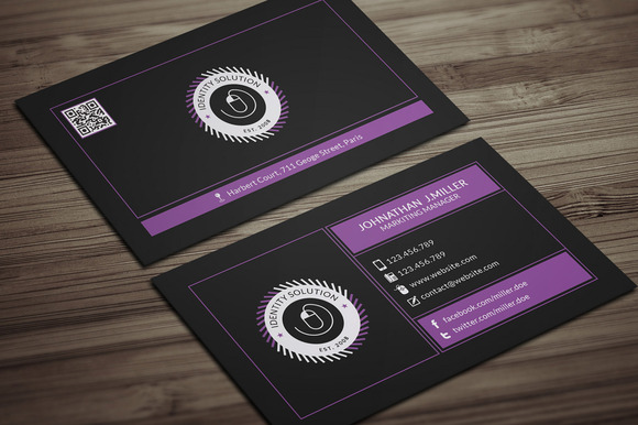 Minimal Business Card 002