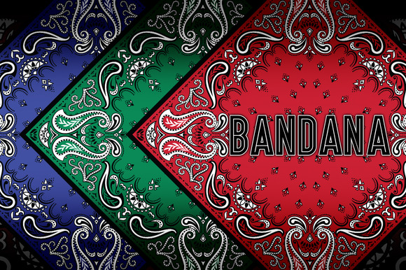 Bandana Vector Decorative Pattern