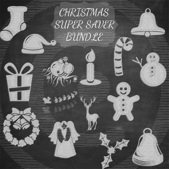 Chalkart Christmas Super Saver Bundl
