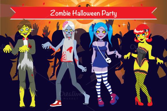 Zombie Halloween Party