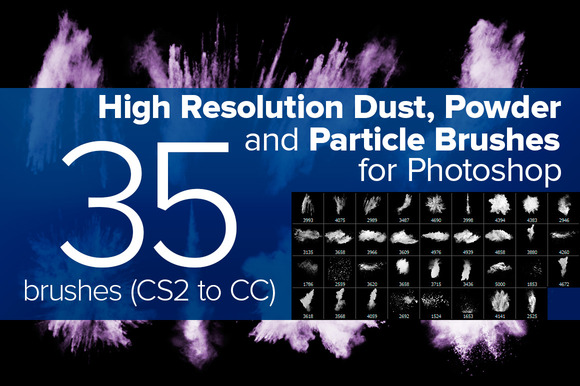 Dust Powder And Particle Brushes
