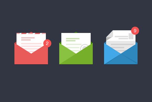 Stylish Email Icons