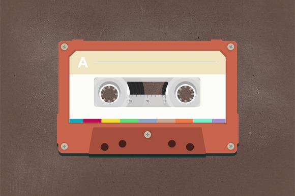 photoshop cassette tape template designtube creative. Black Bedroom Furniture Sets. Home Design Ideas
