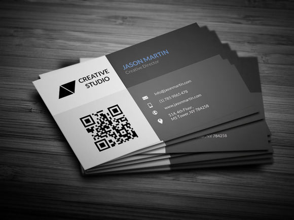 Creative Metro Business Card