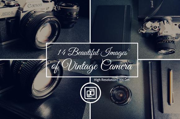 Vintage Camera Photo Pack