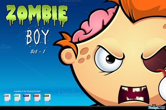 Zombie Boy Set 1