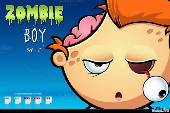 Zombie Boy Set 2