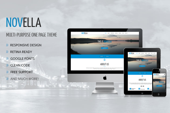 Novella Multipurpose Theme
