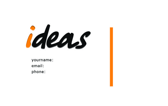V3 Ideas Business Card