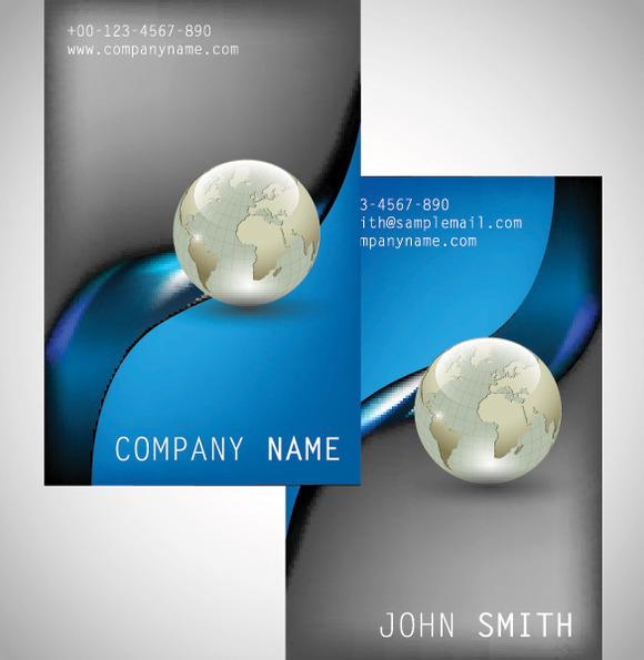 V3 Large Business Card