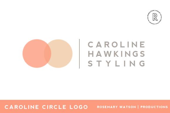 Caroline Circle Logo Template