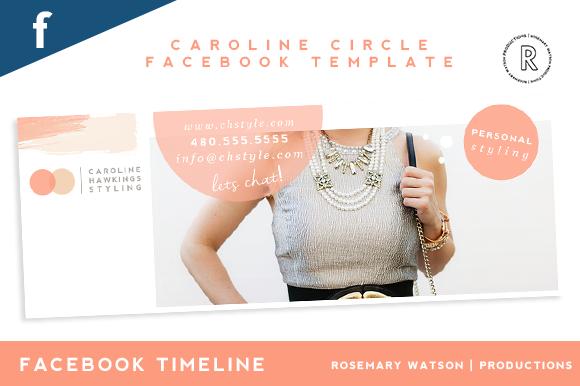 Caroline Facebook Coverpage Template