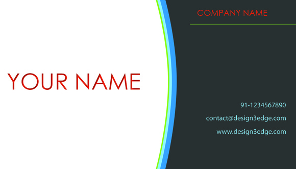 V3 Fresh Business Card Front