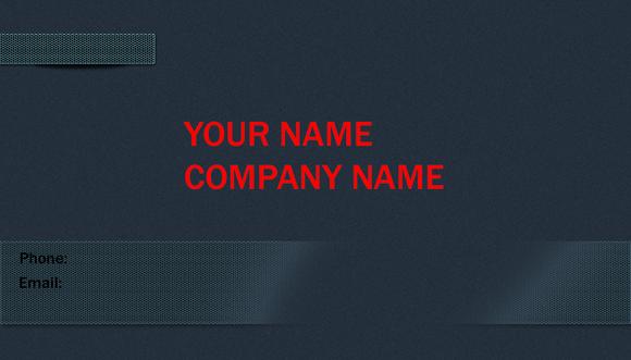 V3 Elegant Business Card Grey