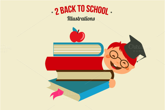 2 Back To School Illustrations