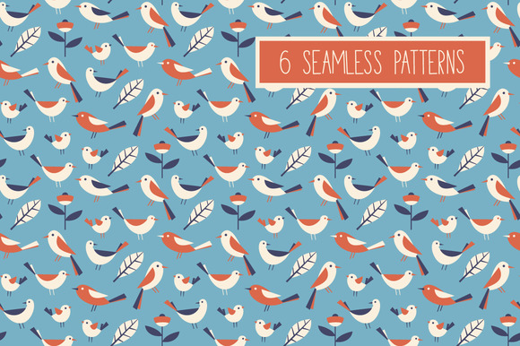 Set Of 6 Patterns