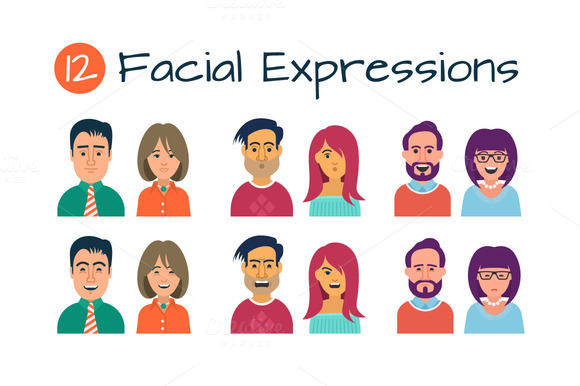 Facial Expression Avatars
