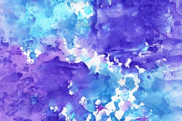 Four Abstract Aguarelle Background