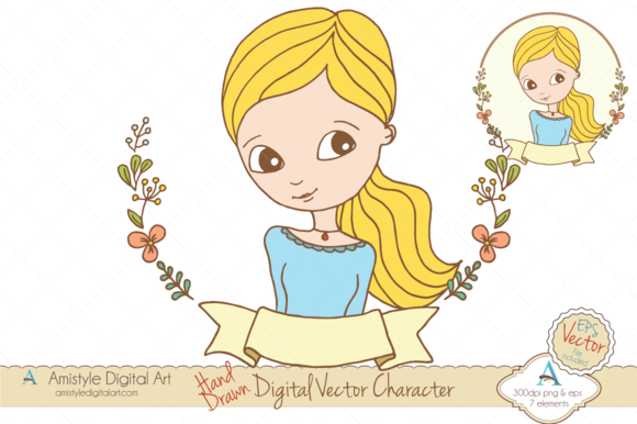 Woman Avatar Clipart Vector 19443 1