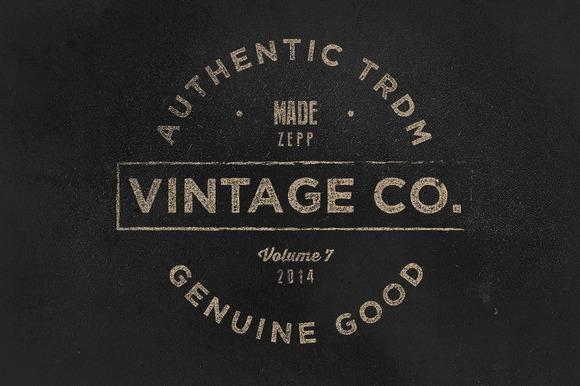 Vintage Labels Logos Vol.7