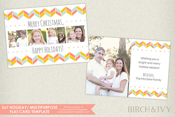 5x7 Holiday Photo Card